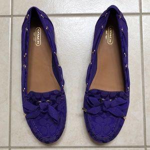 Coach authentic shoes size 10